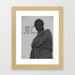 Divina Commedia Framed Art Print