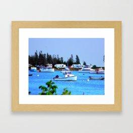 Jonesport, Maine Framed Art Print