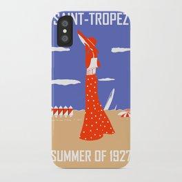 Saint Tropez Summer of 1927 iPhone Case