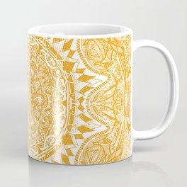 Yellow mandala pattern Coffee Mug