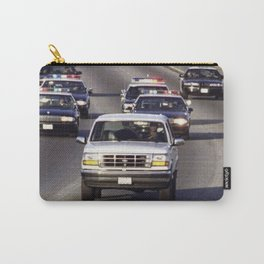 OJ Simpson Car Chase Carry-All Pouch