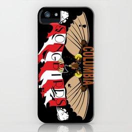 Columbia Songbirds iPhone Case