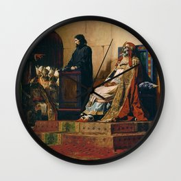 Jean-Paul Laurens - Pope Formosus and Stephen VI - The Cadaver Synod Wall Clock