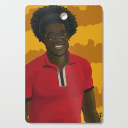 Fitted red shirt Cutting Board