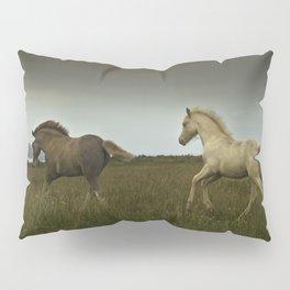 Prancing ponies Pillow Sham
