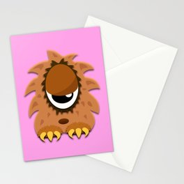 The One Eyed Hairy Monster Stationery Cards