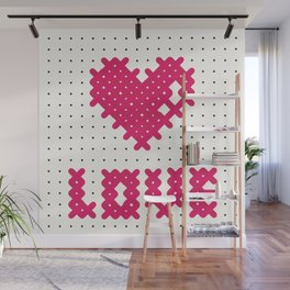 Embroider the Love! Wall Mural