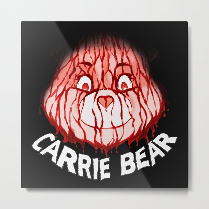 Carrie Bear Metal Print