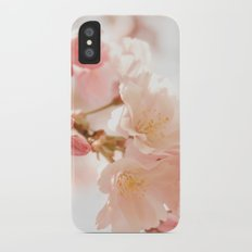 Cherry Bokeh iPhone X Slim Case