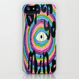 Open Your Mind iPhone Case