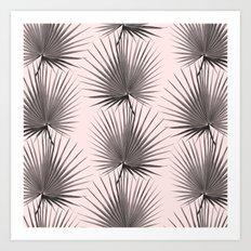 Black Palms Art Print