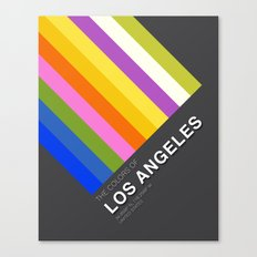 Colors of Los Angeles Canvas Print