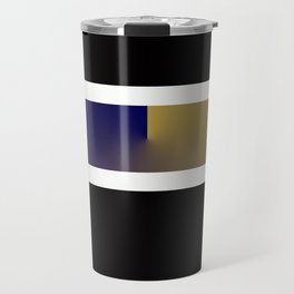Team Colors 3..navy,gold Travel Mug