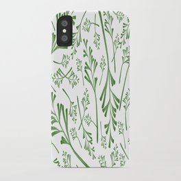 Leafy Greens iPhone Case