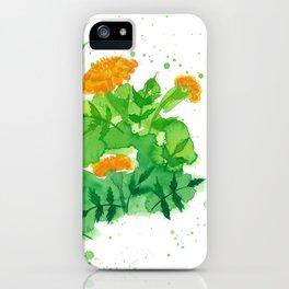 Marigold 3 iPhone Case