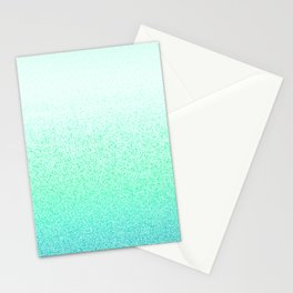 I Dream in Mint Stationery Cards