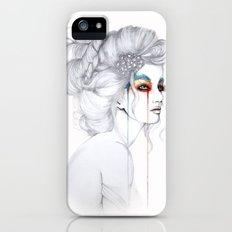 The Girl // Fashion Illustration iPhone (5, 5s) Slim Case