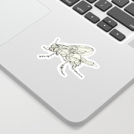 Housefly Sticker