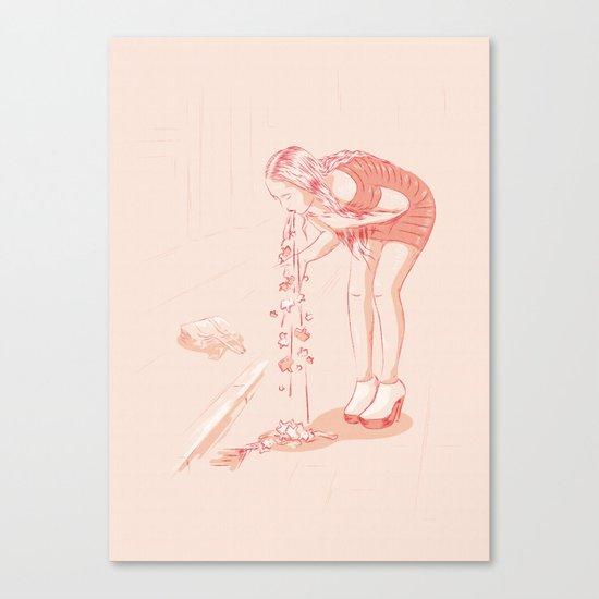 Social Hangover Canvas Print