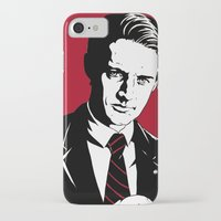 dale cooper iPhone & iPod Cases featuring Agent Dale Cooper, FBI by Shawn Dubin