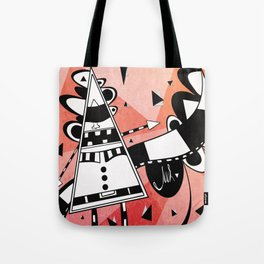 Sir Color Triangle Tote Bag