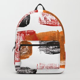 Licorice abstract watercolor Backpack