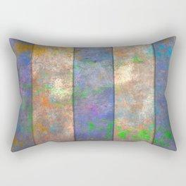 Slats and Slash Rectangular Pillow
