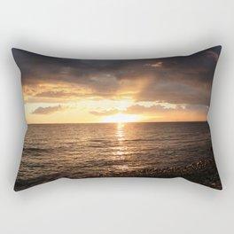 Good night sun! Rectangular Pillow