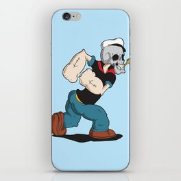 Olive Loves a Skull iPhone Skin