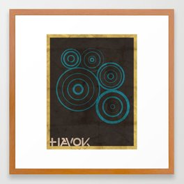 Minimalist Havok Framed Art Print