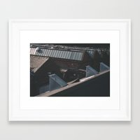 industrial Framed Art Prints featuring Industrial  by Mylo Photography