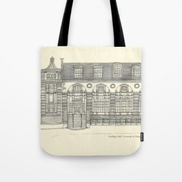 Gerlinger Hall Tote Bag