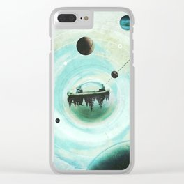 Drifters Clear iPhone Case