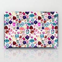gem iPad Cases featuring GEM by Liz Haywood