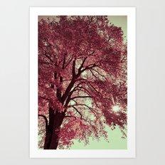 Autumn Blood Art Print