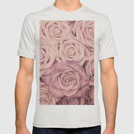 Some People Grumble - Pink Rose Pattern - Roses T-shirt