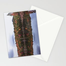Autumn reflection Panorama Stationery Cards