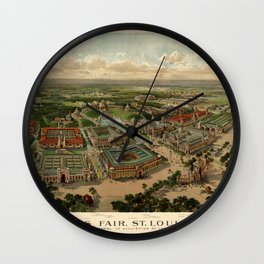 St. Louis Worlds Fair 1904 Wall Clock