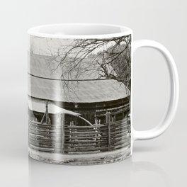Old Barn and Rail Fence Coffee Mug