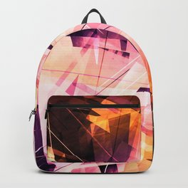 Sunbound - Geometric Abstract Art Backpack