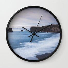 Dyrhólaey - Landscape and Nature Photography Wall Clock
