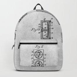 Dominoes game Backpack