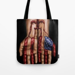 Blood of Hurricane Katrina Tote Bag