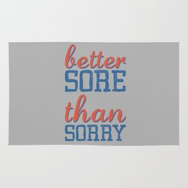 Sore or Sorry Rug