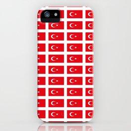 flag of turkey -turkey,Turkish,Türkiye,Turks,Kurds,ottoman,istanbul,constantinople. iPhone Case
