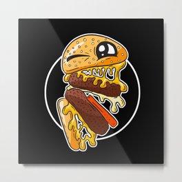 Fast Food FRENZY - Cheezy Craig Metal Print