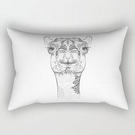 camel head Rectangular Pillow