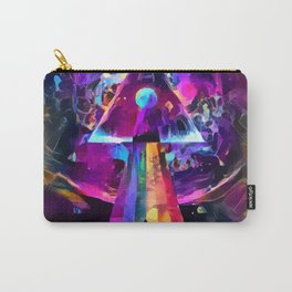 Psycodelic travel to the Moon Carry-All Pouch