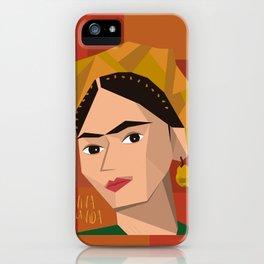 Frida Khalo Cubism Edition 2 iPhone Case