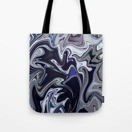 Mixed dark abstract Tote Bag